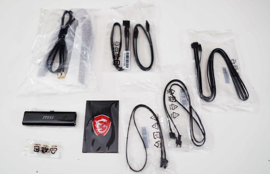 MSI MPG Z590 CARBON EK X accessories