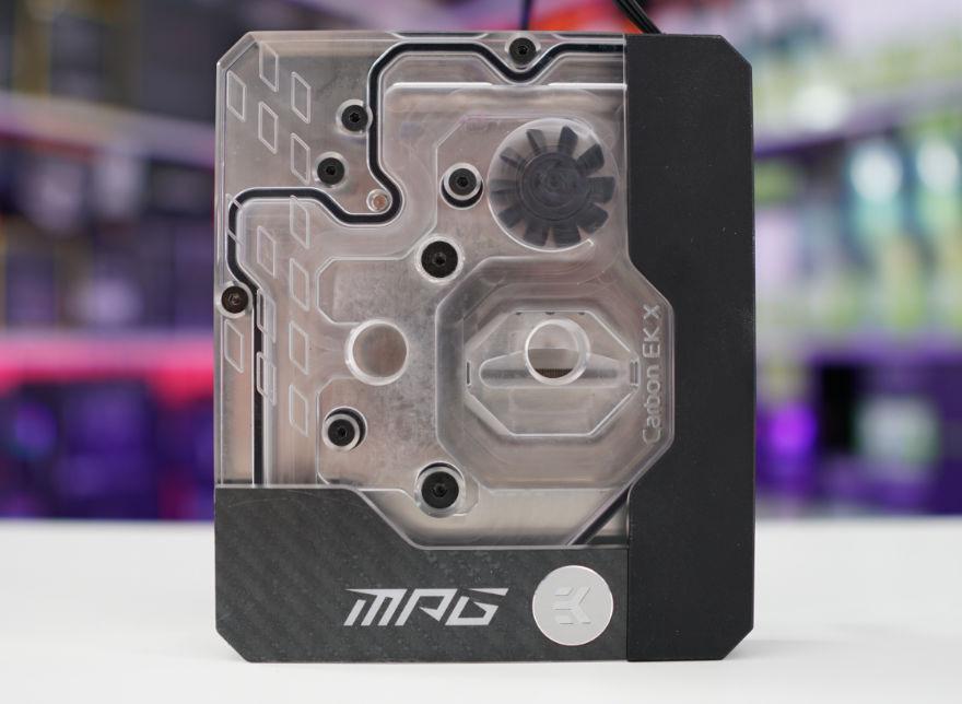 MSI MPG Z590 CARBON EK X cpu block