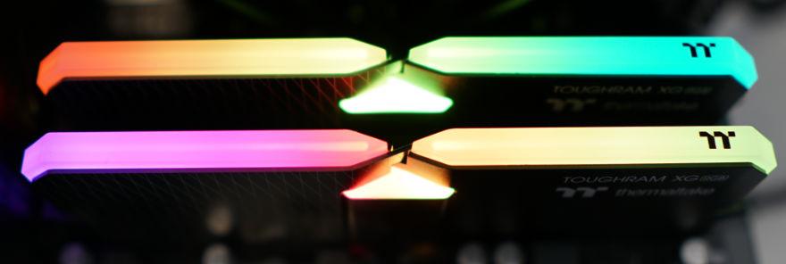 THERMALTAKE TOUGHRAM XG RGB 16GB 3600MHz RGB in system 3