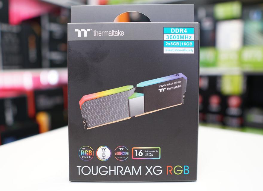 THERMALTAKE TOUGHRAM XG RGB 16GB 3600MHz