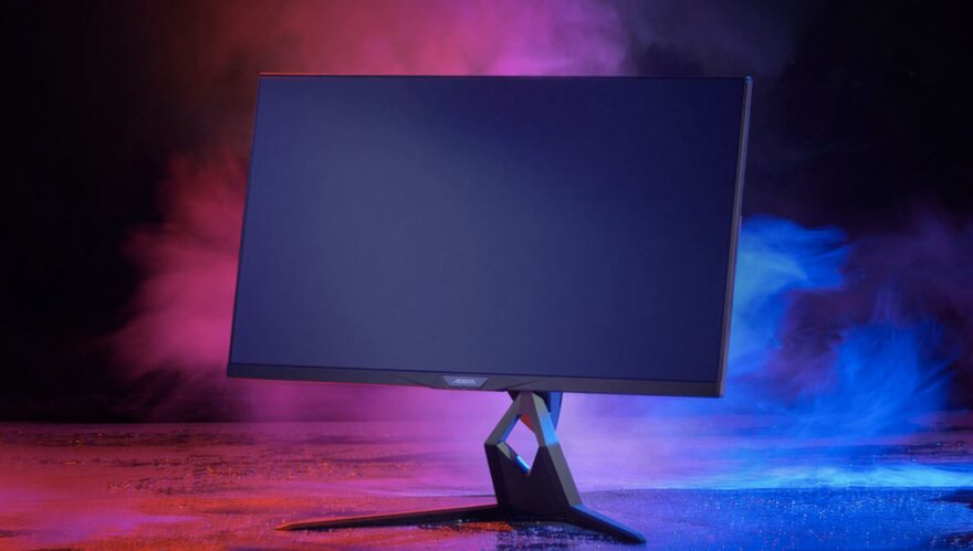 Aorus Release 4K Monitors with HDMI 2.1 - Perfect for Next-Gen Gaming!
