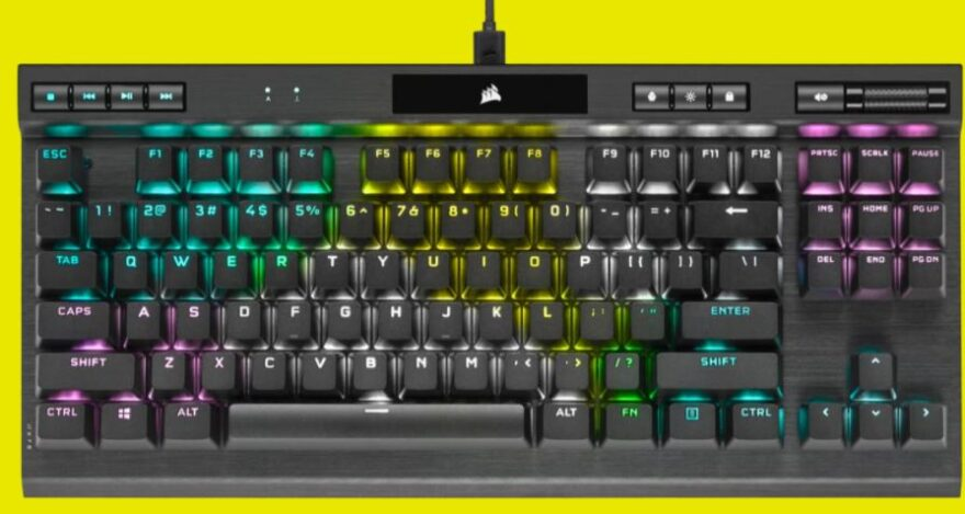 Corsair K70 RGB TKL Champion Series Keyboard Review