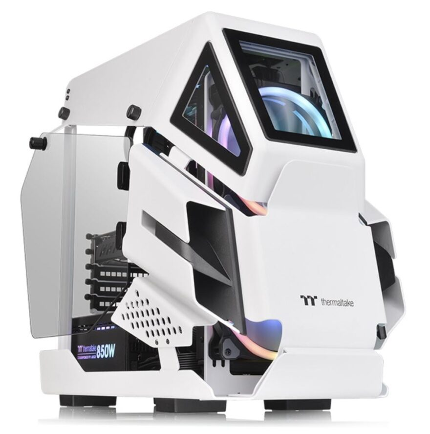 Thermaltake AHT200 Snow Edition Case Review