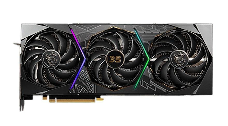 MSI Confirm RTX 30 SUPRIM 35th Anniversary GPUs