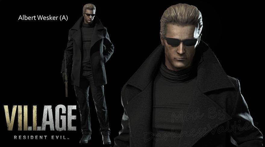 Resident Evil Village Albert Wesker mod