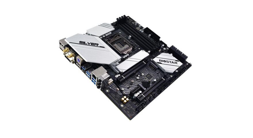 Biostar B560M-SILVER Motherboard