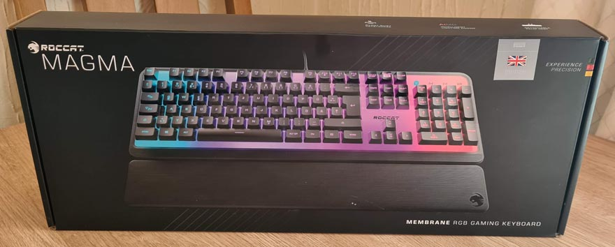Roccat MAGMA AIMO RGB Gaming Keyboard Review