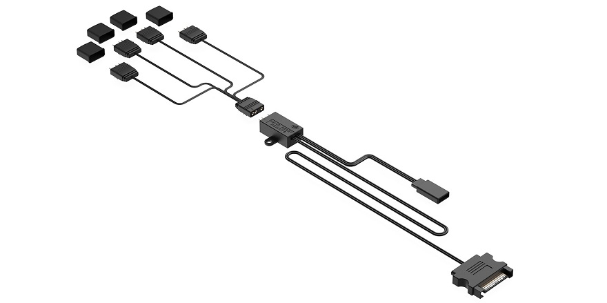 SilentiumPC Nano-Reset Remote ARGB Controller