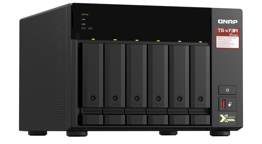 QNAP Quad-core AMD Ryzen TS-x73A Series NAS