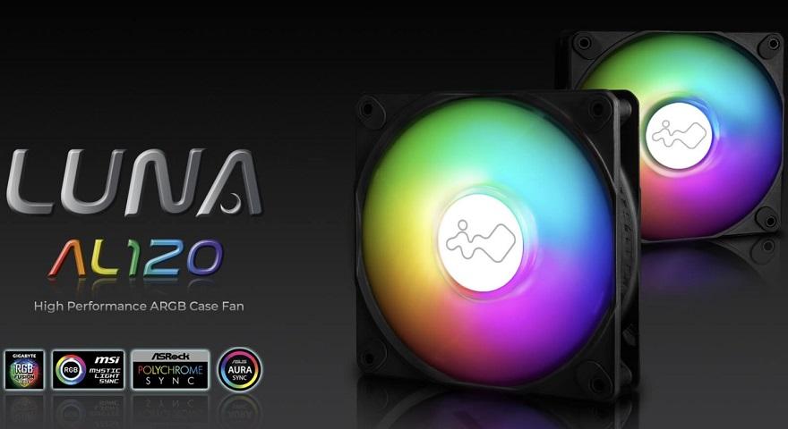 InWin Luna AL120 ARGB Case Fans