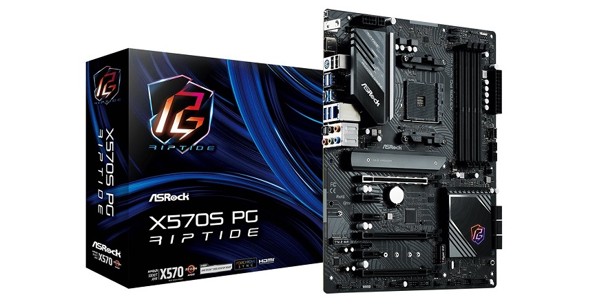 ASRock Unveils PG Riptide X570S and B550 Motherboards