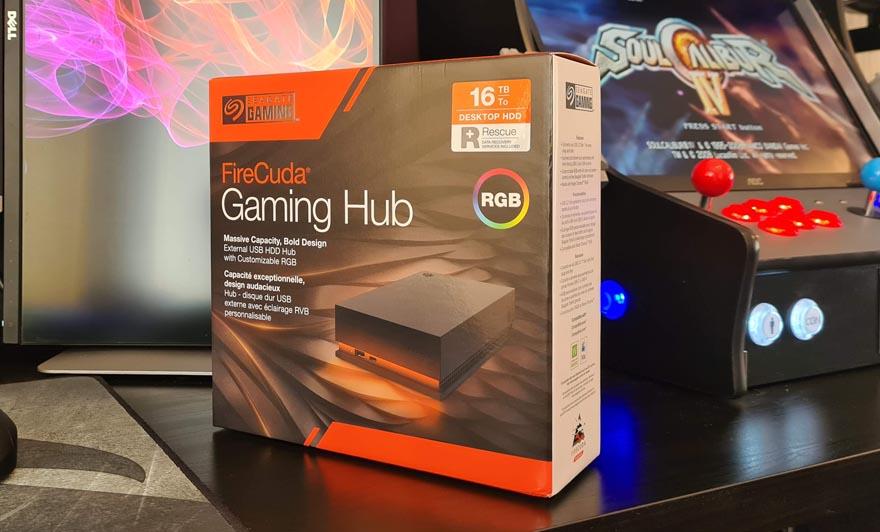 Seagate Gaming FireCuda 16TB Gaming Hub Review