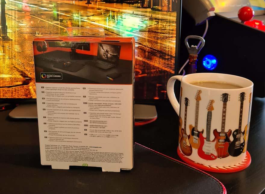 FireCuda 2TB Gaming Hard Drive Review