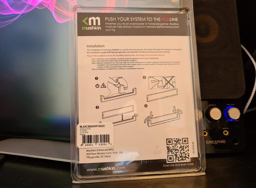 Mushkin Redline Lumina 32GB 3600MHz DDR4 Memory Review