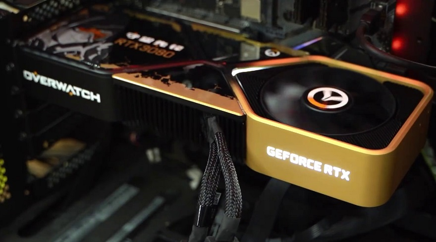 Nvidia Overwatch 3080 graphics card