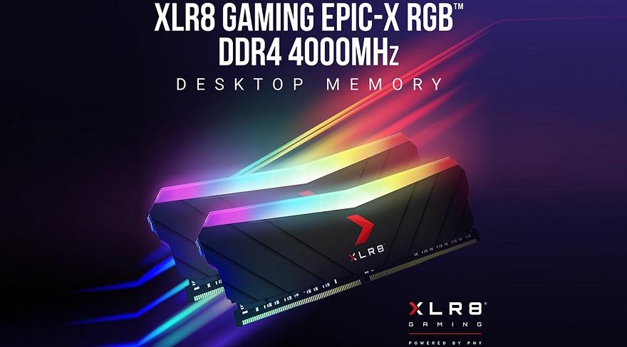 PNY XLR8 Gaming EPIC-X RGB DDR4 4,000 MHz Desktop Memory