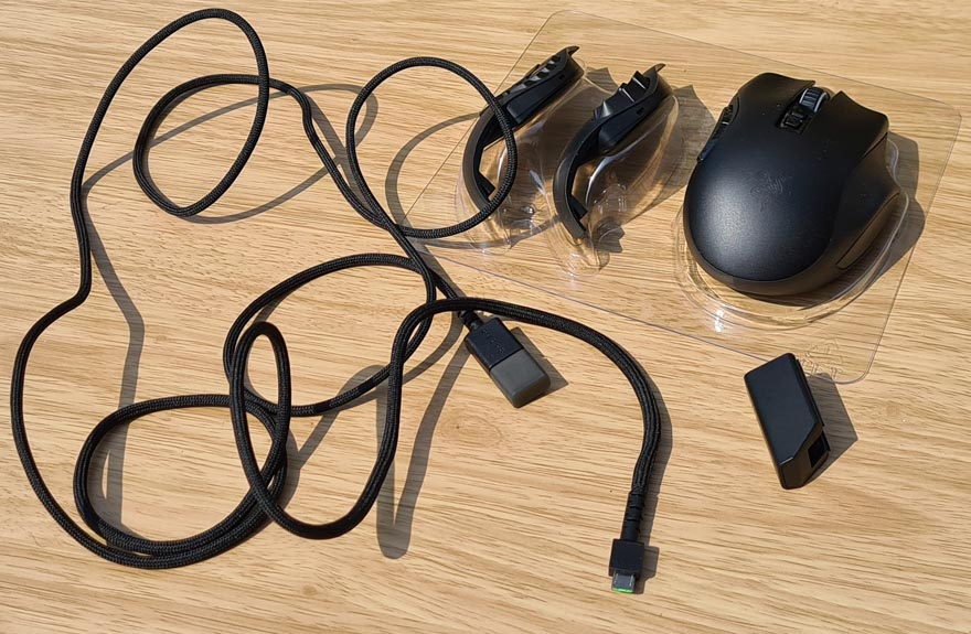 Razer NAGA Pro Modular Wireless Gaming Mouse Review