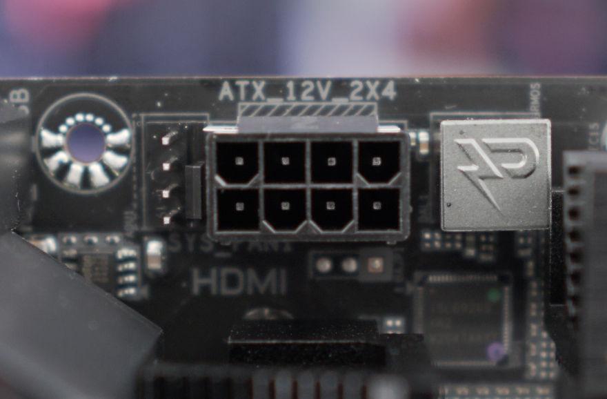 Gigabyte B560M AORUS ELITE Motherboard 8 pin eps connector
