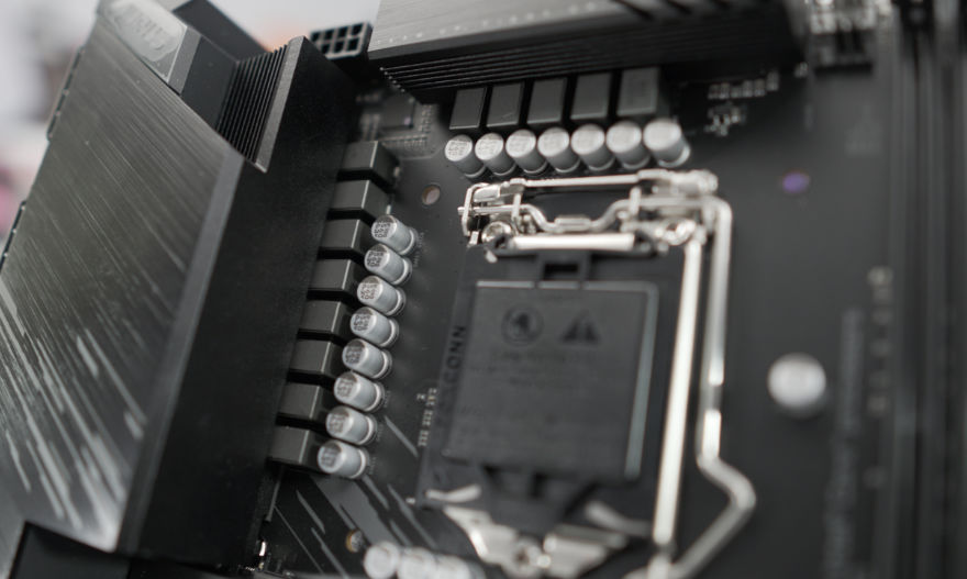 Gigabyte B560M AORUS ELITE Motherboard vrm and power phases