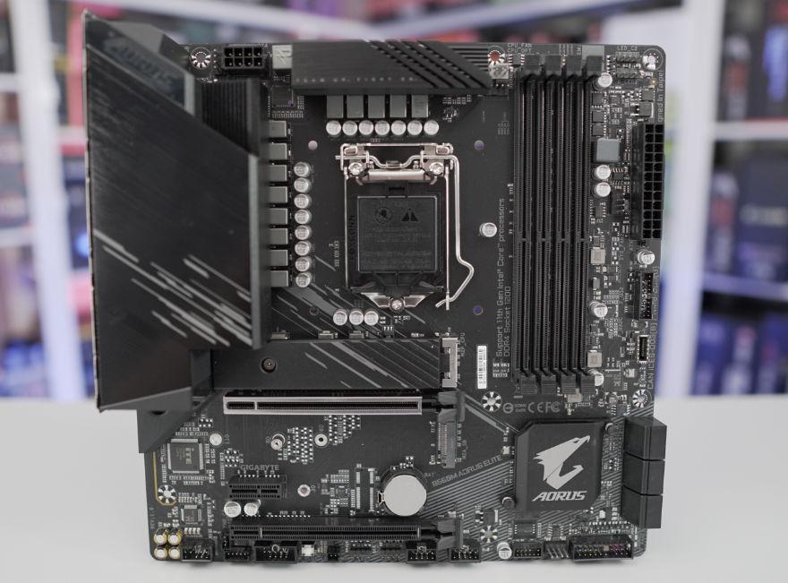Gigabyte B560M AORUS ELITE Motherboard whole board