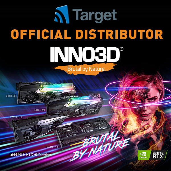 Inno3D Back in the UK - Target Appointed Official Distributor