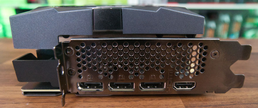 MSI GeForce RTX 3080 Ti SUPRIM X input connectors