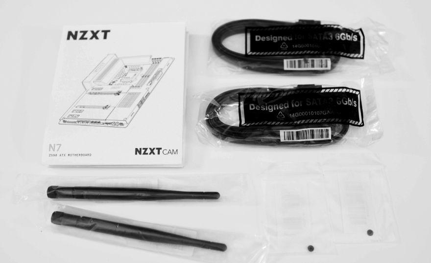 NZXT N7 Z590 Motherboard accessories