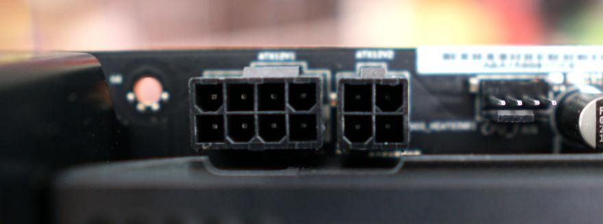 NZXT N7 Z590 Motherboard eps connectors