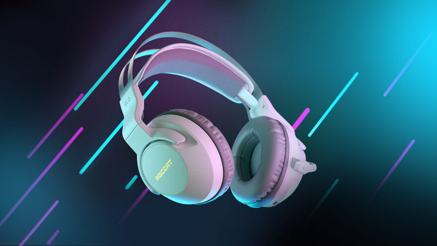 ROCCAT Launches White Elo 7.1 Air Wireless PC Gaming Headset