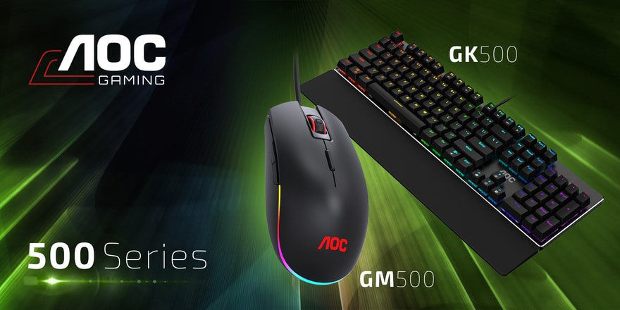 AOC Reveals New Keyboards, Mice and Mousepads