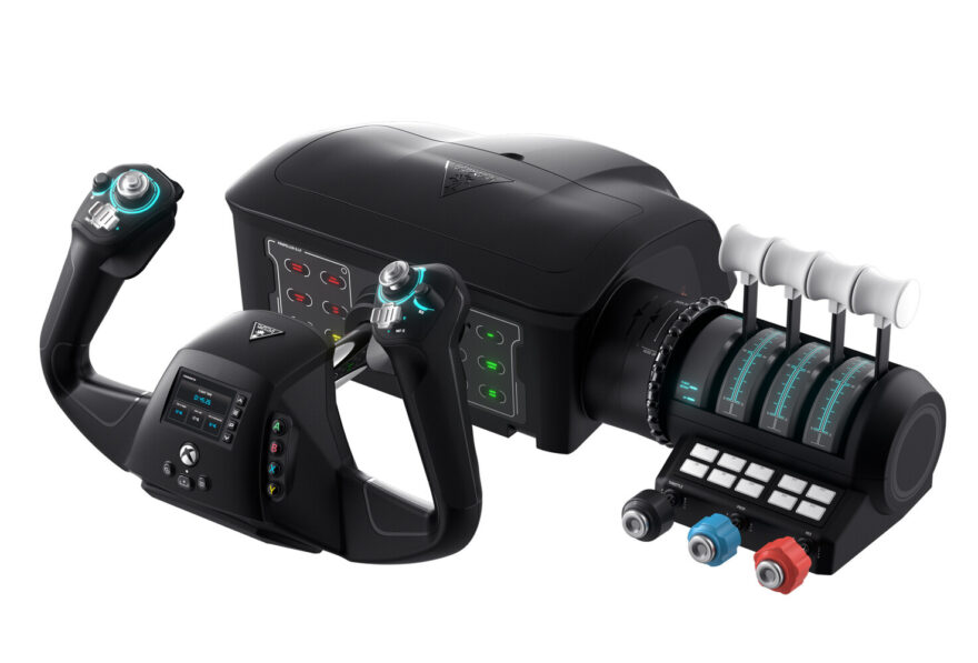 Turtle Beach Announces Game Controllers and Simulation Hardware