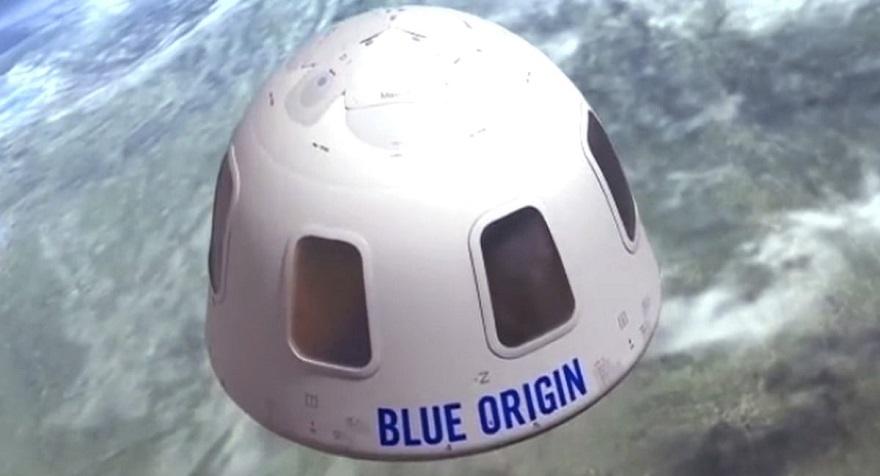 Jeff Bezos Blue Origin Amazon