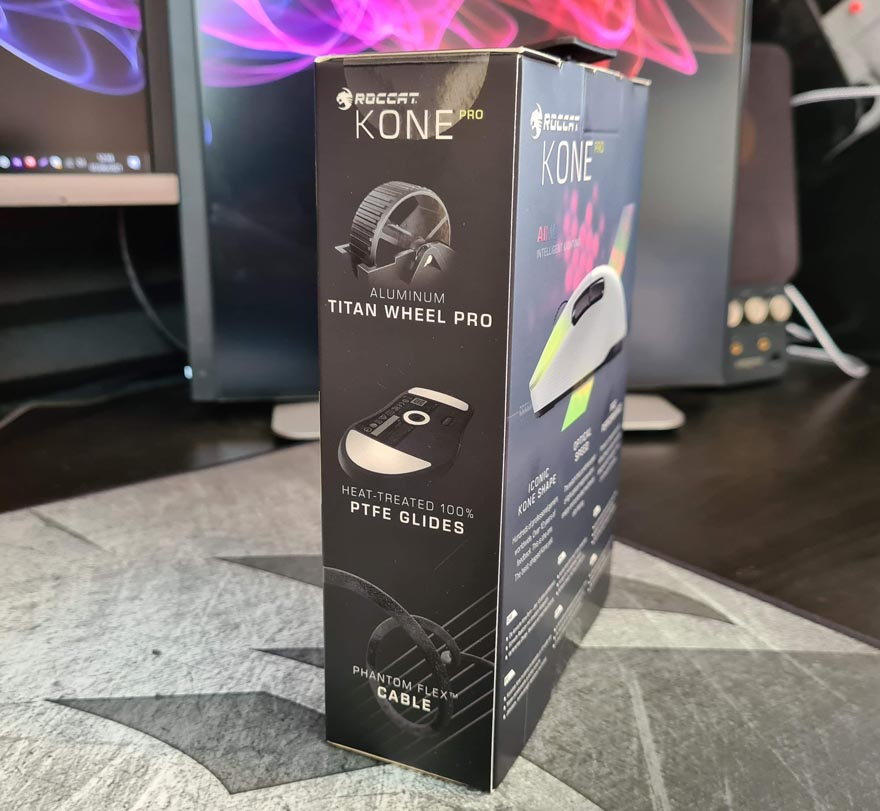 Roccat Kone Pro White Gaming Mouse Review