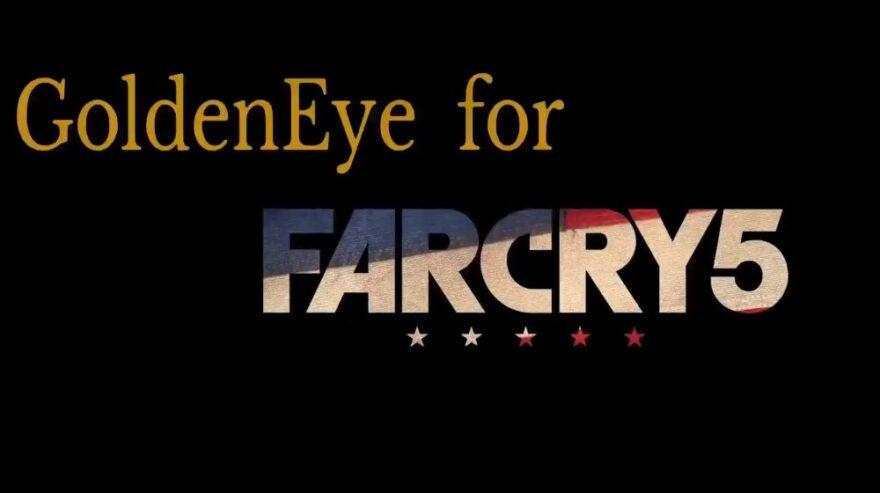 Fan Painstakingly Recreates GoldenEye 007 in Far Cry 5