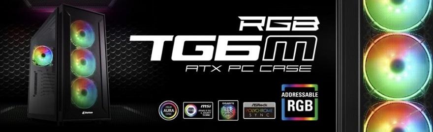 Sharkoon TG6M RGB Case