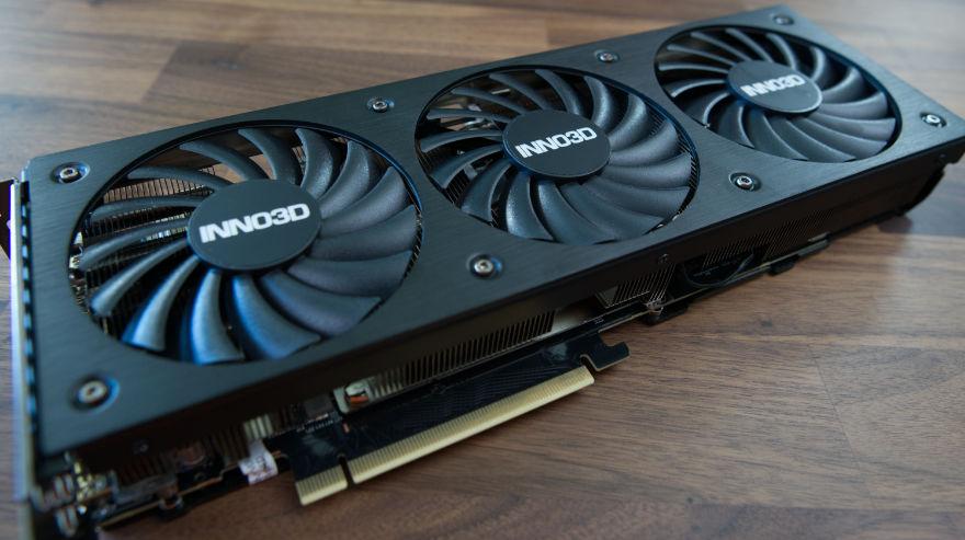 INNO3D RTX 3070 Ti X3 OC fan profile