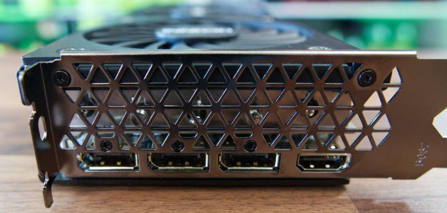 INNO3D RTX 3070 Ti X3 OC input connectors