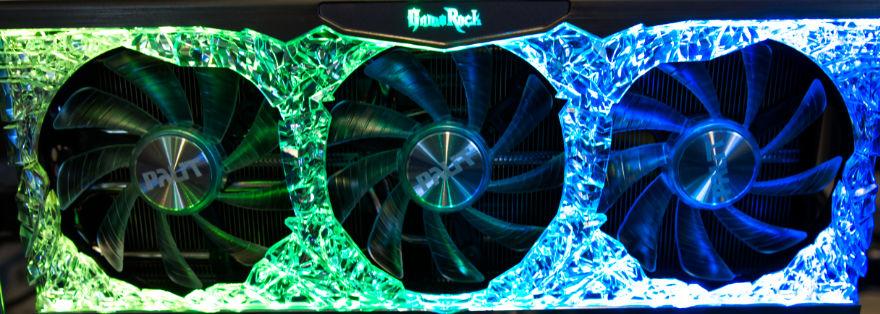 PALIT RTX 3070 Ti GameRock RGB 1