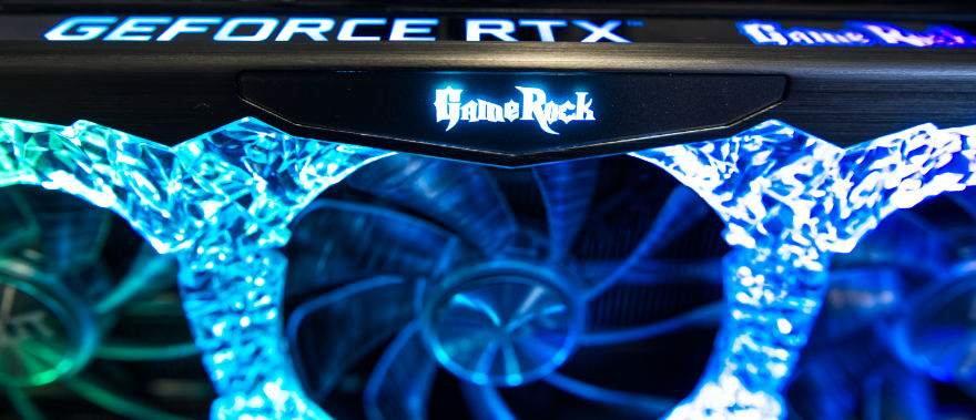 PALIT RTX 3070 Ti GameRock RGB 3