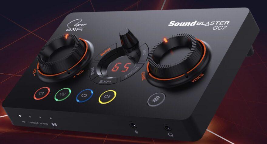 Creative Sound Blaster GC7 Review