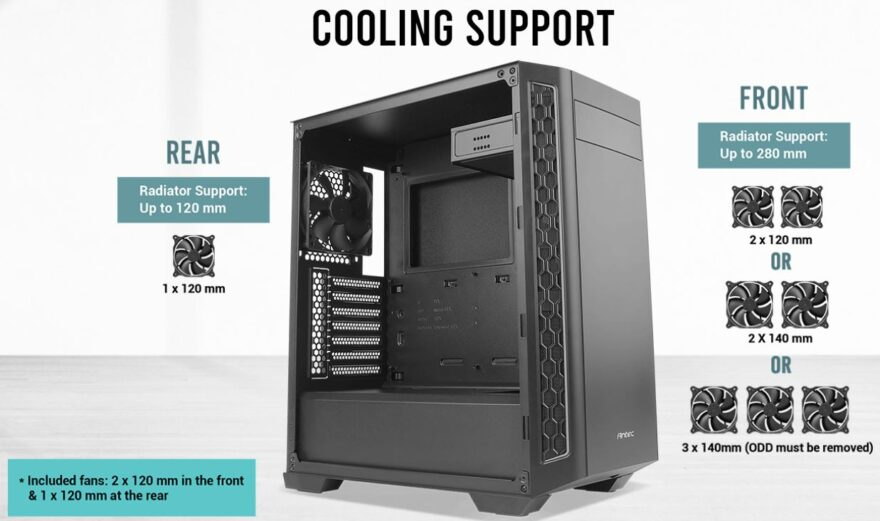 Antec P7 NEO Mid-Tower Case Review