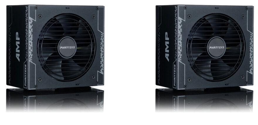 Phanteks Launches AMP 850W 1000W Power Supplies