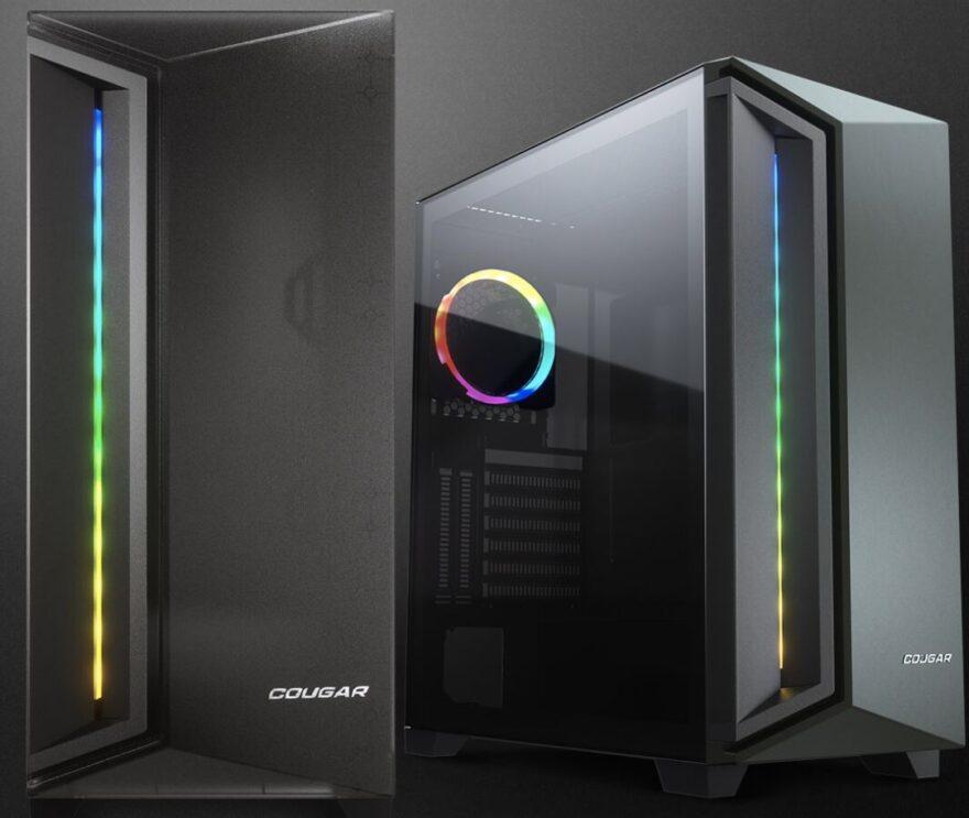 COUGAR DarkBlader X7 Midnight Green Case Review
