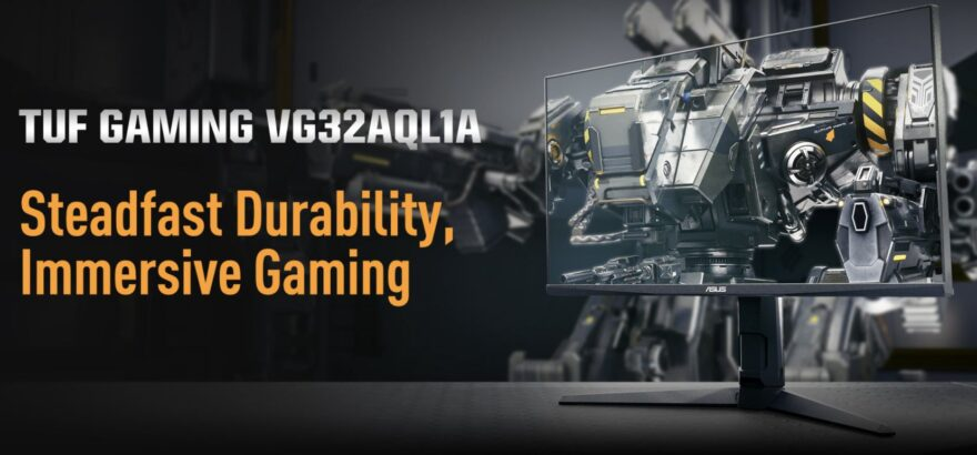 """Latest ASUS TUF Gaming 32"""" Fast IPS QHD Monitor Revealed"""