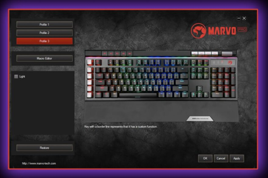 Marvo Pro KG965G Gaming Keyboard Review