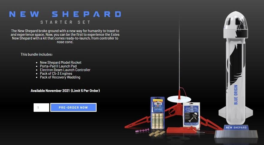 Jeff Bezos Working Blue Origin Model Rocket