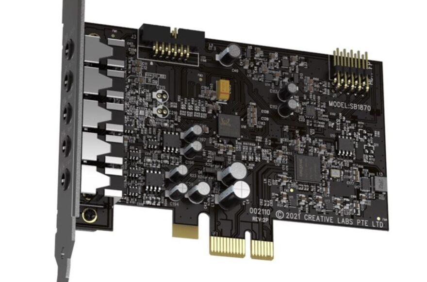 Sound Blaster Audigy FX V2 Released