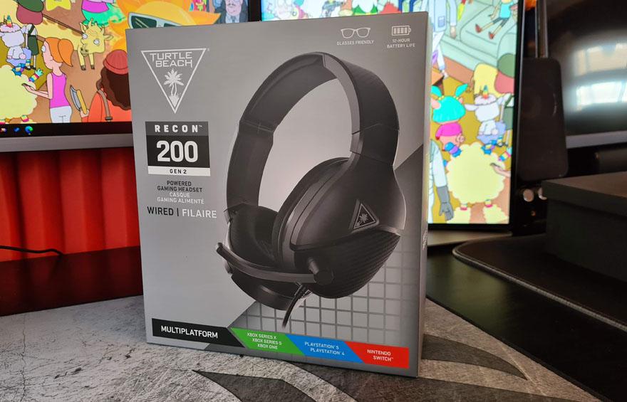 Turtle Beach Recon 200 Gen 2 Gaming Headset 1