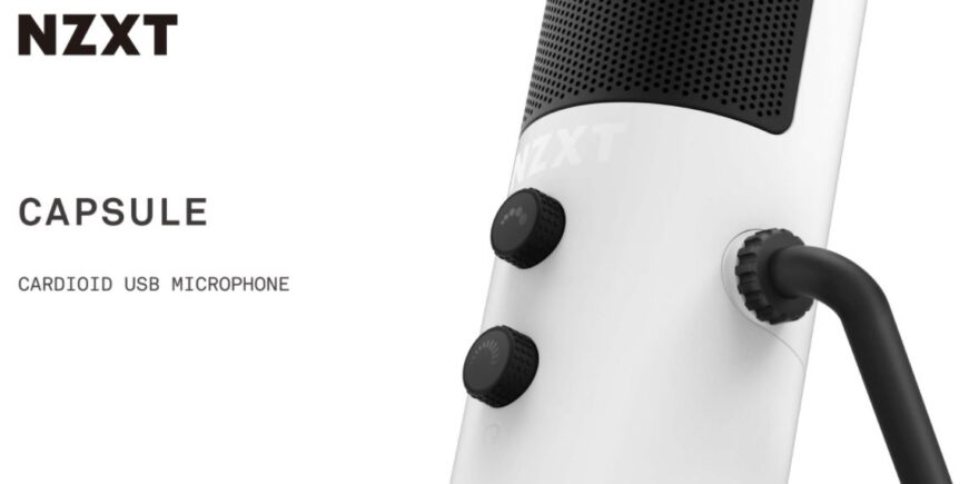 NZXT Capsule USB Microphone Now Available
