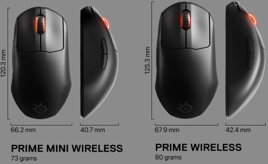 SteelSeries Prime Mini Wireless eSports Mouse Review